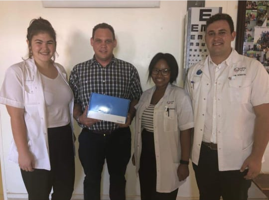 Medequip donates a Diagnostic set to UFS Student